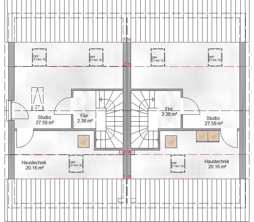 Haus Union - Haustypen - Salzburg- Grundriss - DG